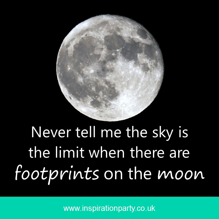 moon footprints