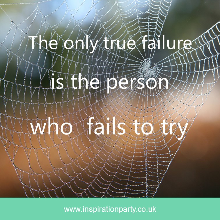 failure if you fail to try