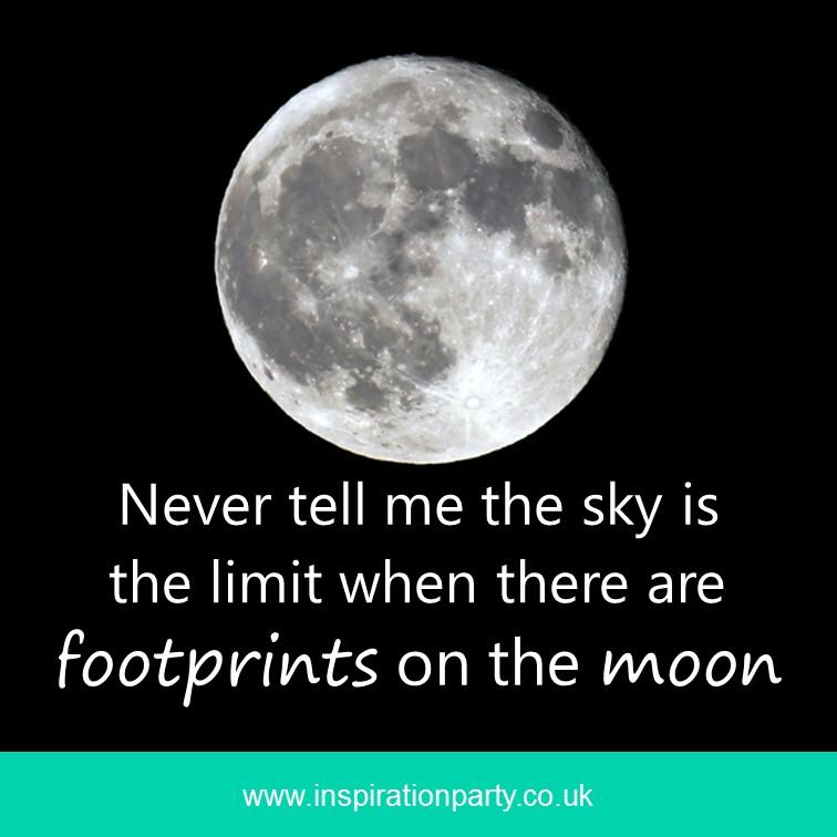 moon footprints