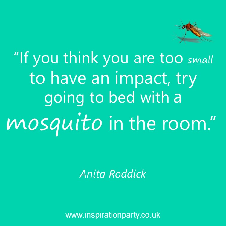 Too small to have impact mosquito