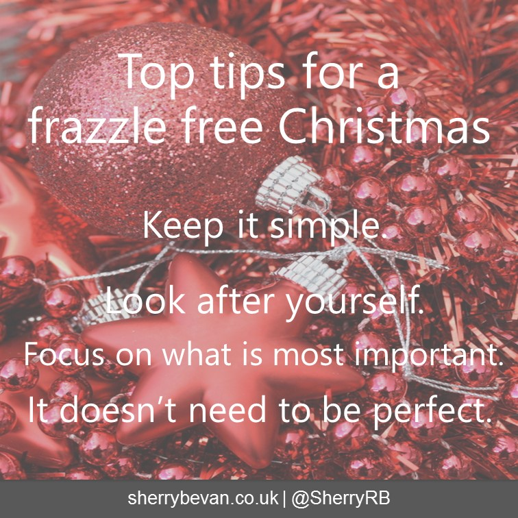 Christmas frazzle free tips